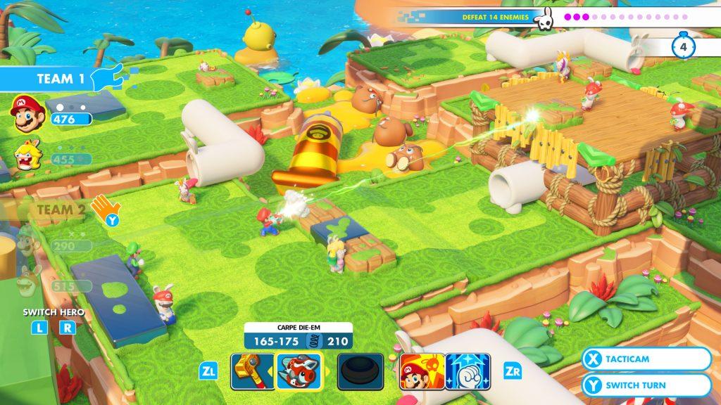 2a409386ebc Non seulement le jeu est joli, réellement drôle (et franchement moins bête  que les. Switch : Test – Mario et les Lapins Crétins ...